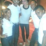 Shaggy, Minnie, Rambo, & Julio Nice after their amazing show at Cofresi!
