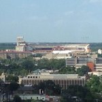 View of stadium from room 1720