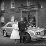 Glenn & Philipa,s wedding.Moffat House Hotel