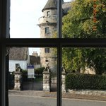 Room One looks at the entrance to Falkland Palace