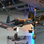 some of our planes suspended from the ceiling