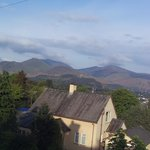 Looking over Keswick to the Fells