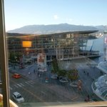 view from room to convention centre