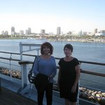 Skyline of Long Beach from the Queen Mary