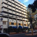 Compare with this nice Hotel Plaza San Martin with a real view of the whole city of Tegucigalpa!