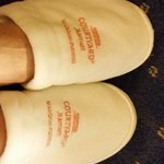 In-room slippers