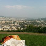 Lunch with a view from Alexandra Park. Absolutely amazing!