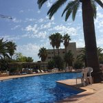 Ola Aparthotel Tomir - The pool from a sunbed