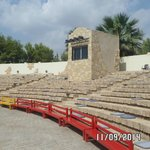 the ampitheatre - for the shows