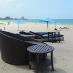 Hotel beach furniture