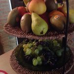 Very sweet fruits!!! Love the pear the most!