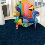 Funky Chair in Lobby