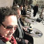 Having coffee in Paris