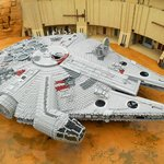 Lego Millenium Falcon From Star Wars