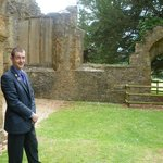 Damon shows off his beloved Ettington Park