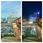 Day & Night View of Mahkota Parade and Hatten Hotel from Explorer Room