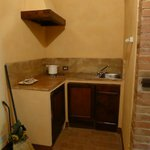 kitchenette in villa