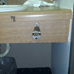 We had a bottle opener in our room.......