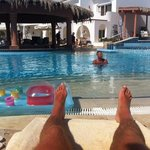 the pool bar and ahmed