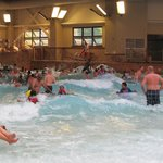Indoor Wave pool - BIG waves