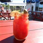Best Bloody Mary ever, at Robinson's!