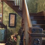 Beautiful staircase to B&B rooms