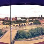 Panorama from 9th floor lookout