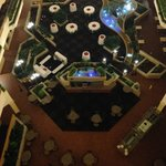 the atrium from the 7th floor
