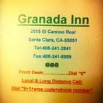 Granada Inn - Silicon Valley resmi