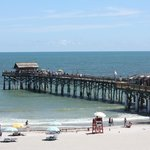 View of the Cocoa Beach Pier