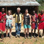 Good times with the Masai