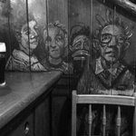 Murial at the bar