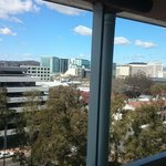 View over Northbourne Ave from Room 708