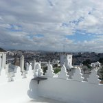 view over Tangier´s roof-tops