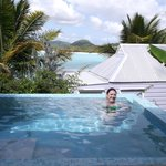 The private plunge pool - Cottage 2 (Deluxe Cottage with Pool)
