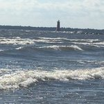 Manistique Lighthouse, just a short walk on the boardwalk
