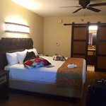 New updated king bed room in Jamaica