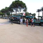 Road Train at Sant Feliu de Guixols