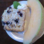 Yummy Blueberry Bread at Breakfast