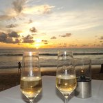 Dinner at sunset at Jw Khao Lak