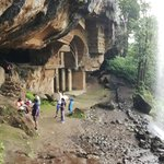 At the caves
