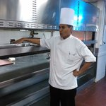 A 'behind the scenes' Kitchen trip from Mohamed (Executive Sous Chef)