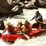 Rafting a Class 4 on Royal Gorge