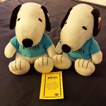 Plush Snoopy toy for every night you stay.