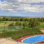 Vistas a Piscina y Campo de Golf