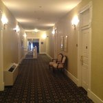 View of hallway - our room on right