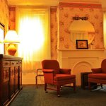 St Charles Guest House sitting room