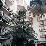 We were in love with the greenery that surrounds you in this hotel. Truly unique and beautiful!