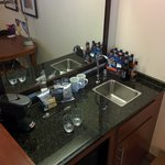 wet bar( excuse empties)
