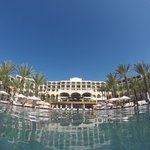 GoPro view of the resort from the infinity pool